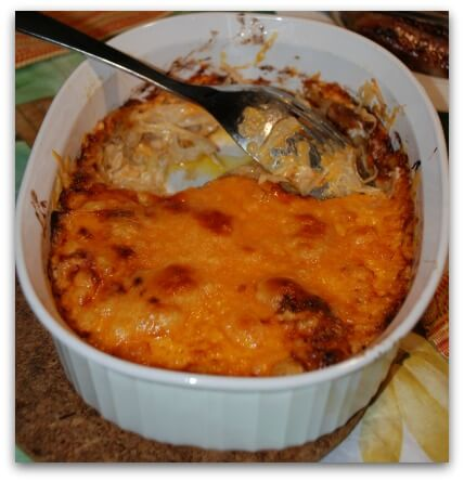 Cheesy cabbage casserole recipe.