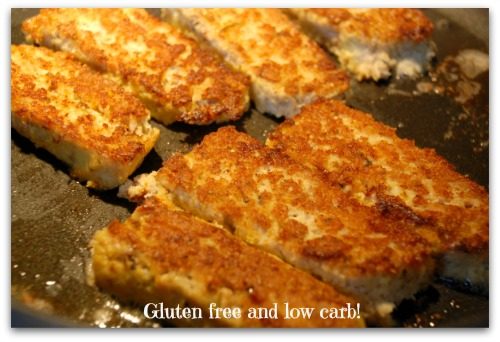 Healthy fish sticks that are gluten free and low carb for Healthy fish sticks