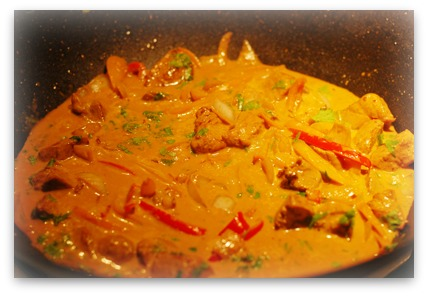 Chicken curry recipe with coconut
